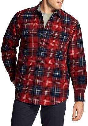 Izod Classic-Fit Plaid Shirt Jacket