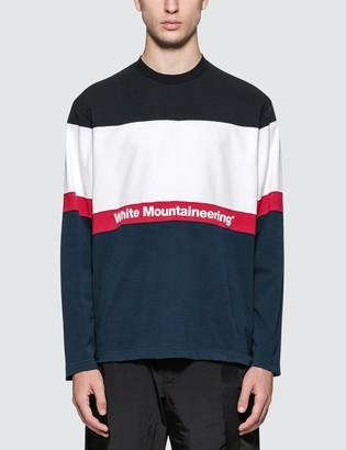 White Mountaineering Contrasted Sweatshirt