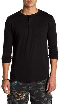Soul Star Barat Long Sleeve Henley Tee