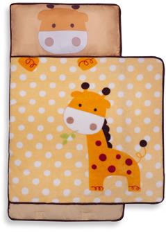 Bed Bath & Beyond Kids Line™ Nap Mat - Yellow Giraffe
