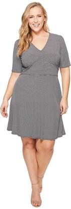 MICHAEL Michael Kors Size Mod Geo Flare Dress Women's Dress