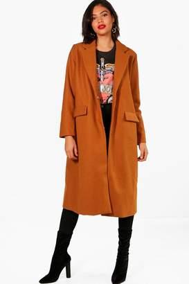 boohoo Emily Wool Look Coat