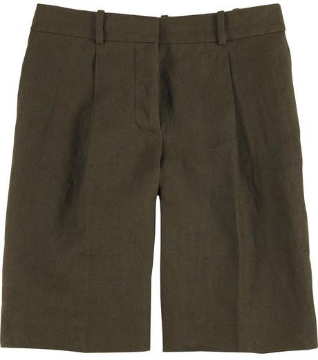 Chloé Pleat front shorts