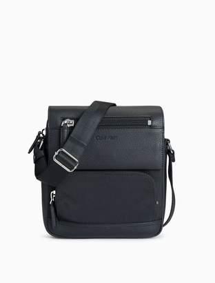 Calvin Klein pebble utility small crossbody bag