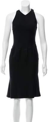 Alaia Sleeveless Wool Dress