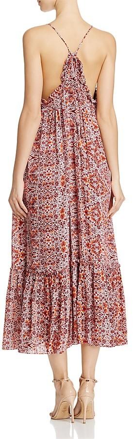 MISA Los Angeles Thale Pom-Pom Maxi Dress 2