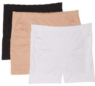 3pk Seamless Shaping Shorts