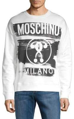 Moschino Graphic Cotton Sweatshirt