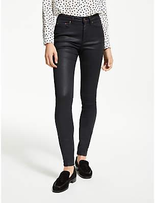 Boden Mayfair Skinny Jeans, Black Wax