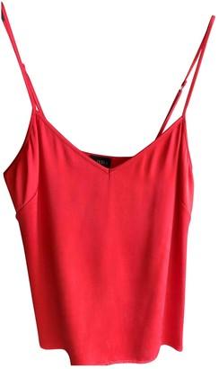 La Perla Red Silk Top for Women