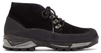 Diemme Asiago Vibram Sole Suede Boots - Mens - Black