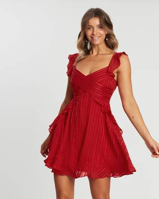 Atmos & Here ICONIC EXCLUSIVE - Rhiannon Frilly Party Dress
