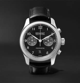 Bremont Alt1-Classic/pb Automatic Chronograph 43mm Stainless Steel And Alligator Watch