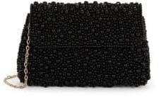 La Regale Pearl Encrusted Clutch Bag