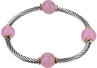 Footnotes Womens Pink Stretch Bracelet