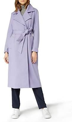Just Female Women's Sette Trenchcoat Plain Classic Long Sleeve Coat,(Manufacturer Size: Small)