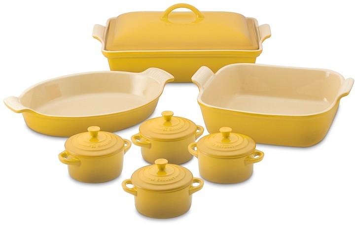 Le Creuset Stoneware 12-Piece Bakeware Set