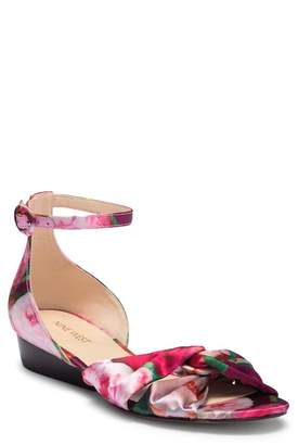 Nine West Lumsi Ankle Strap Wedge Sandal