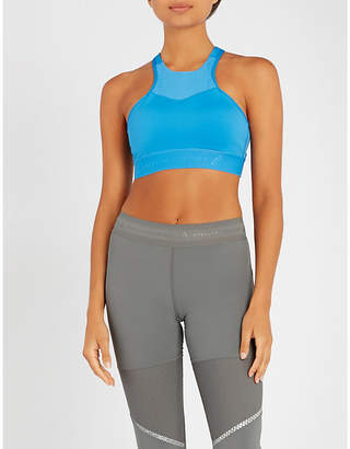 adidas by Stella McCartney Hiit stretch-jersey sports bra