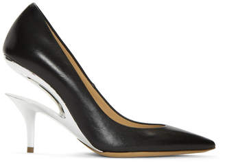 Maison Margiela Black Cut-Out Heel Pumps