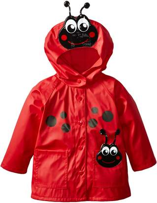Western Chief Little Girls' Ladybug Rain Coat