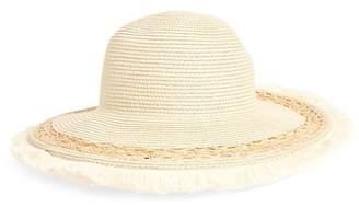 BP Fringe Edge Straw Hat