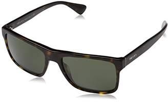 Prada Men's 0Pr01Ss 2Au0B2 Sunglasses