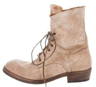 ARI Leather Combat Boots w/ Tags