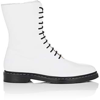 The Row Women's Fara Leather Combat Boots
