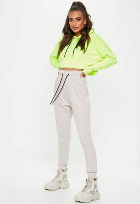 Missguided Sand Company Record Joggers