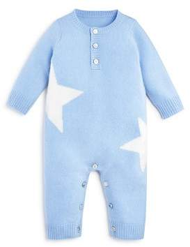 Bloomingdale's Bloomie's Boys' Cashmere Stars Intarsia Coverall, Baby - 100% Exclusive