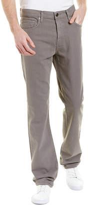 J Brand Kane Tinted Gunmetal Linen-Blend Straight Leg