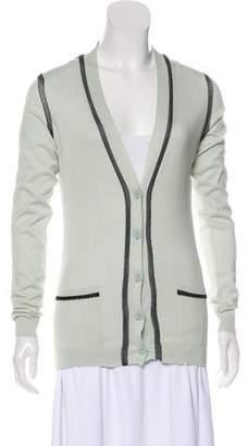 Fendi Lightweight Knit Cardigan