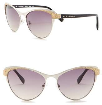 Elie Tahari 56mm Cat Eye Sunglasses