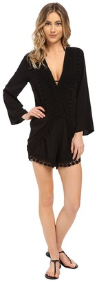 La Blanca - Costa Brava Romper Cover-Up Women's Jumpsuit & Rompers One Piece $95 thestylecure.com