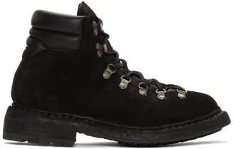 Guidi Black Hiking Boots