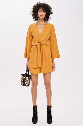 Topshop Knot Mini Dress