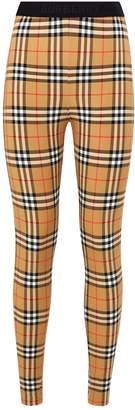 Burberry Vintage Check Leggings