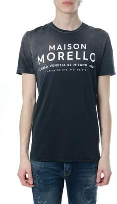 Frankie Morello Maison Morello Black Cotton T-shirt