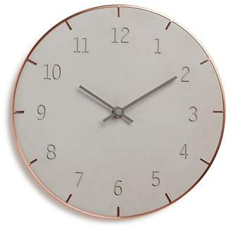 Umbra Piatto Concrete Wall Clock
