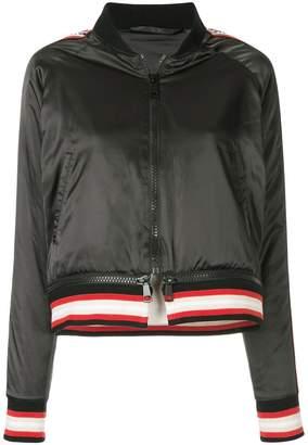 The Upside satin bomber jacket