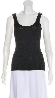 Ralph Lauren Black Label Silk Sleeveless Top