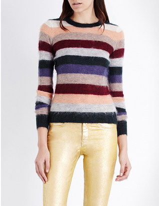 ISABEL MARANT ETOILE Cassy mohair-blend jumper $189 thestylecure.com