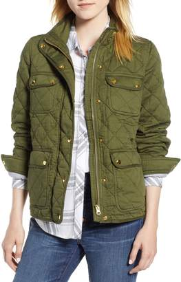 J.Crew Quilted Downtown Field Jacket