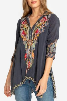 Johnny Was Festival Georgette Tunic