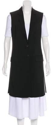 Marissa Webb Peak-Lapel Button-Up Vest