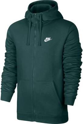 Nike Club Fleece Men's Sportswear Full Zip Hoodie 804389-375 (Size M)