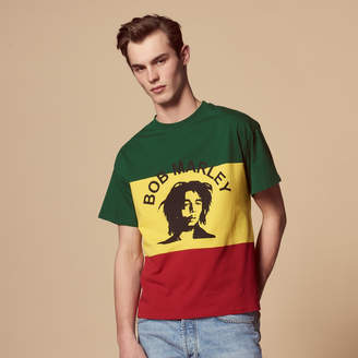 Sandro Flocked Bob Marley T-shirt