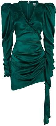 Magda Butrym Carlton Floral Ruched Dress