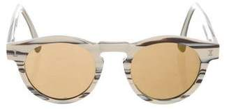 2cec6b0501f Illesteva Leonard Mirrored Sunglasses - ShopStyle